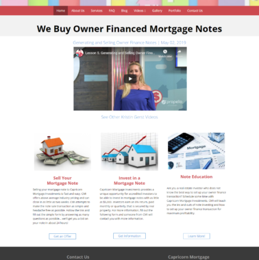 Capricorn Mortgage Investments